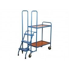 2 Shelf Order Picking Trolleys BC51